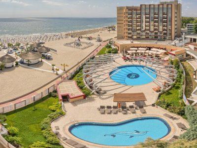 fotografie corporate exterior hotel piscina